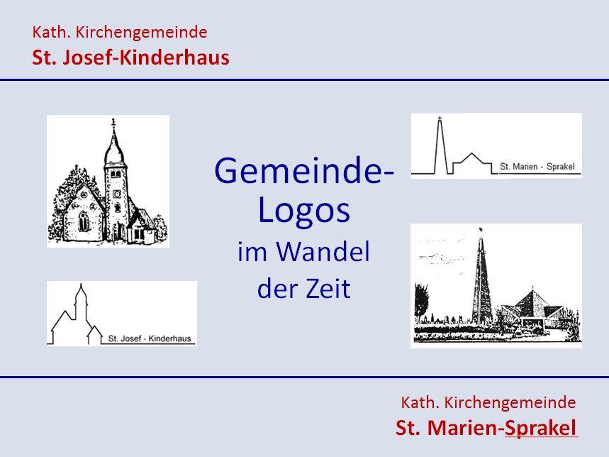 Präsentation Gemeinde-Logos im Wandel der Zeit