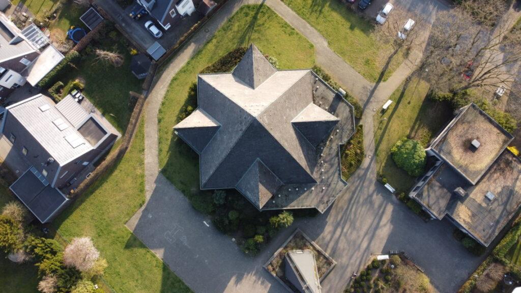 Luftbild St. Marien Kirche