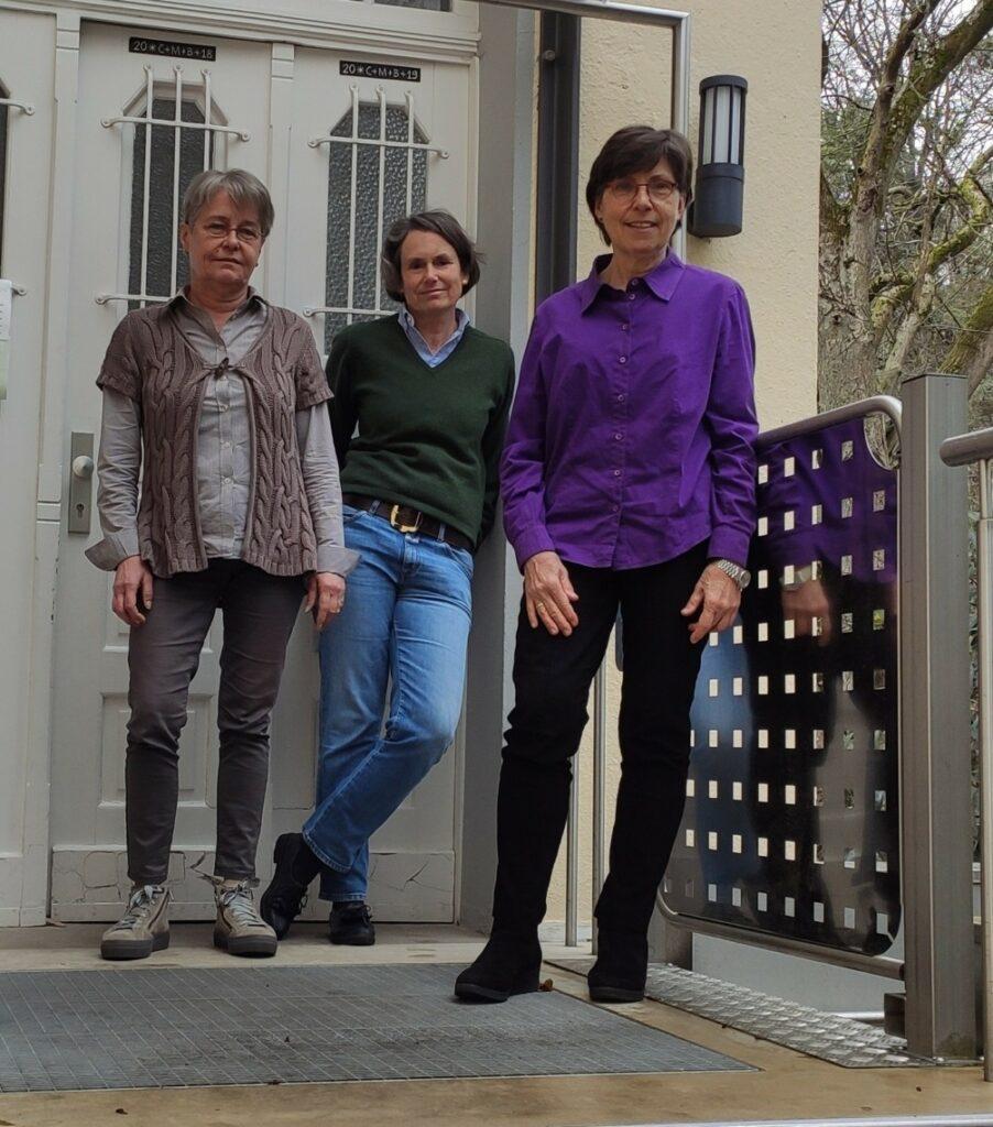 Die 3 Pfarrsekretärinnen